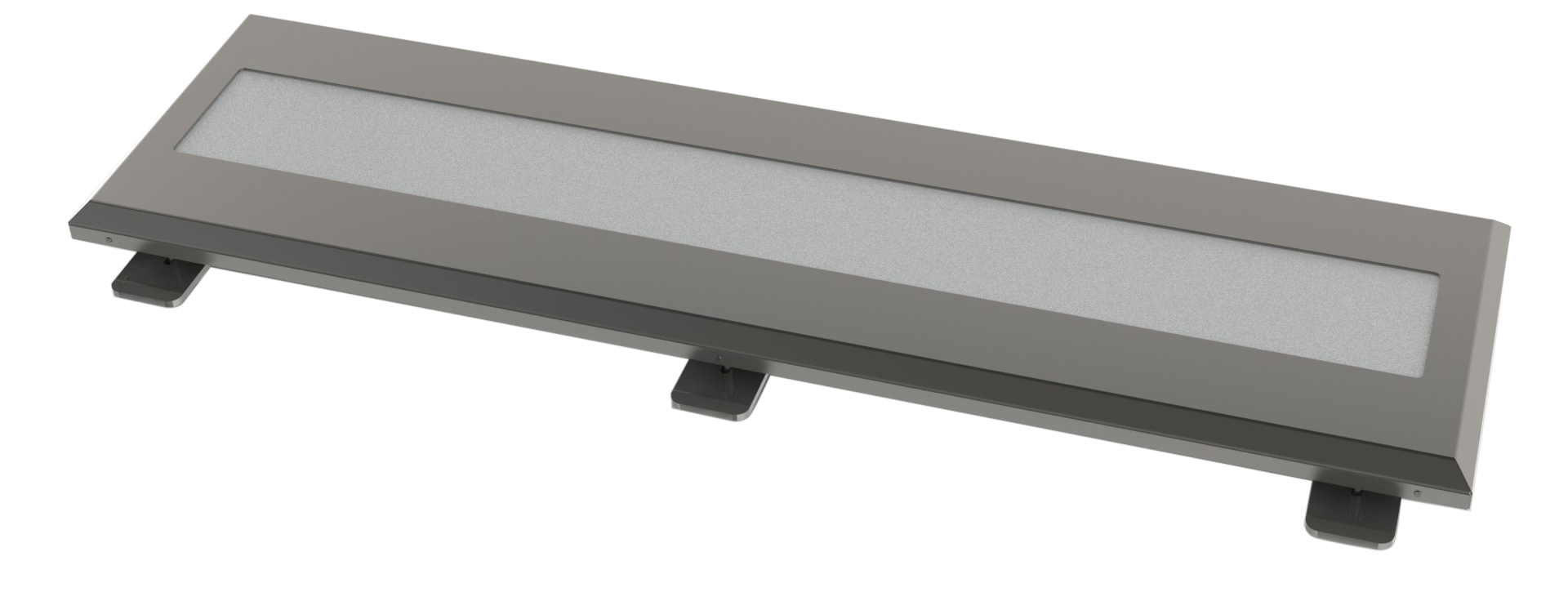 The Epsilon Light Unit Consists Of A 316 Grade Stainless Steel Surround Providing Tough Yet Stylish Protection For LED Panel Housed Inside